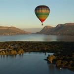 Hot Air Balloon over Garden Route