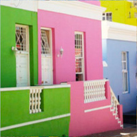 colour houses